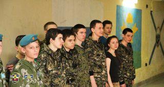 Кадеты Каменска-Уральского приняли участие в соревнованиях по парашютному многоборью в Шадринске