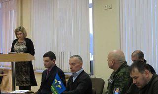 Координационный Совет Ветеранов Боевых Действий Каменска-Уральского (январь 2016)