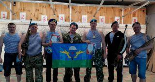 Десантники Каменска-Уральского провели соревнования по стрельбе