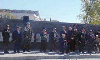 Митинг в честь Великой Победы