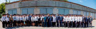 Каменские десантники поздравили работников ГИБДД с профессиональным праздником