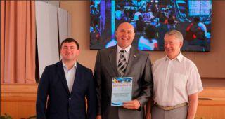 Каменские десантники получили благодарность от главы Каменска-Уральского
