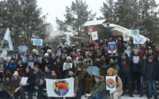 Митинг, посвященный 108-летию со дня рождения Героя Советского Союза В. Ф. Маргелова