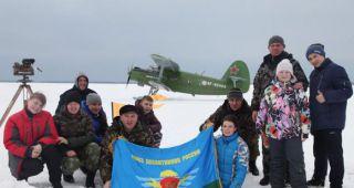 Кадеты Каменска-Уральского прыгнули с самолета на парашютах!