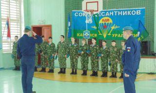 Новые бойцы ВПК Крылатая Гвардия приняли приясягу