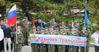 Кадеты Крылатой Гвардии приняли участие в приеме у губернатора области