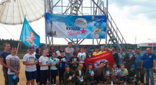 Юные парашютисты Ачитской школы в Каменске-Уральском