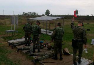 Кадеты Крылатой Гвардии прошли огневую подготовку