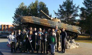 На Каменск-Уральском Мемориале Погибшим Защитникам Родины прошел традиционный осенний субботник