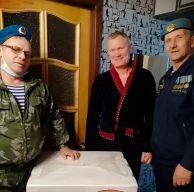 Благотворительная акция и подарок от десантников Каменска