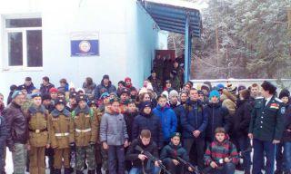 Каменские кадеты приняли участие в соревнованиях ДОСААФ