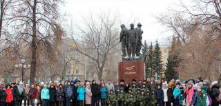 Митинг памяти генерала Дубынина