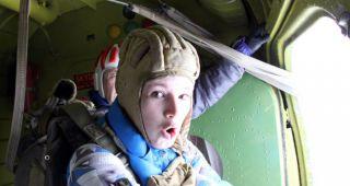 На телевидении вышел сюжет о прыжках кадетов Крылатой Гвардии!