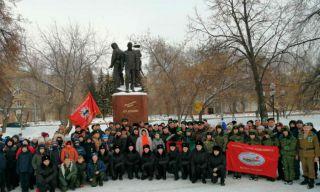 1 февраля в Каменске-Уральском прошел митинг памяти генерала Дубынина