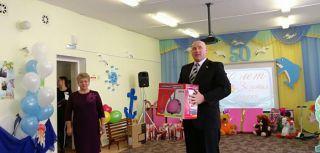 Председатель каменских десантников принял участие в юбилее детского сада